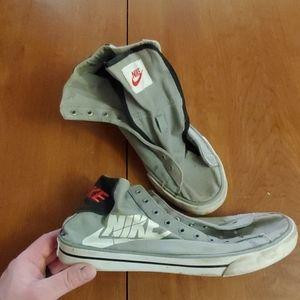 Nike Shoes | Mens Nike Canvas High Top